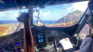 Saba Landing, Worlds Shortest Runway SXM-SAB
