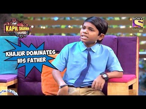 Khajur Dominates His Father – The Kapil Sharma Show