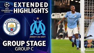 Manchester City vs. Marseille: Extended Highlights | UCL on CBS Sports