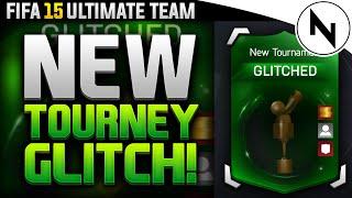 NEW TOURNY GLITCH! - NEVER LOSE AGAIN - FIFA 15 Ultimate Team