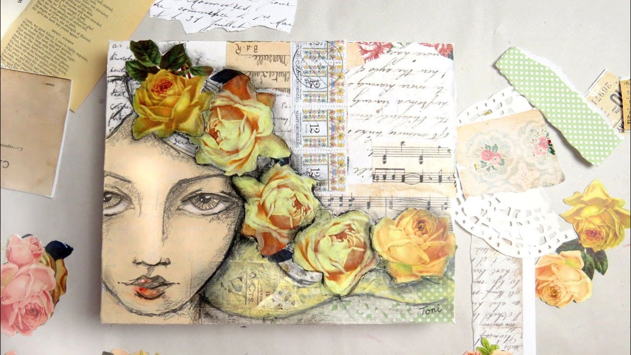 how to create a collage in paint