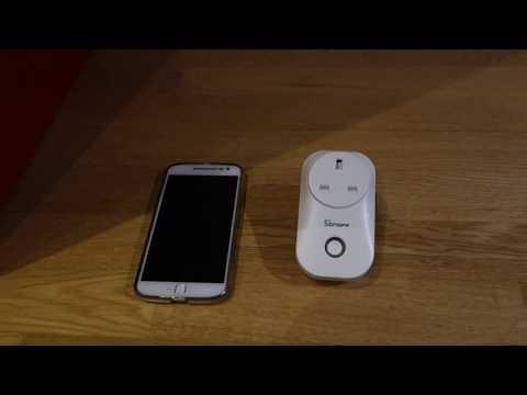 Custom WiFi Mains Socket Switch