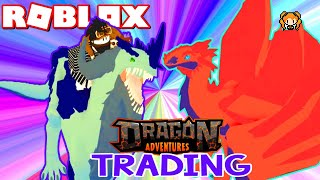 ROBLOX DRAGON ADVENTURES TRADING!! What Can You Trade and How To + Zyana has a SON!?