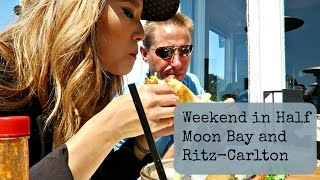 VLOG: WEEKEND AT THE RITZ-CARLTON HALF MOON BAY | dramaticsunflower