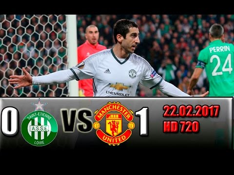 Download St Etienne 0-1 Manchester United All Goals and Highlights !!! 22.02.2017 HD 720
