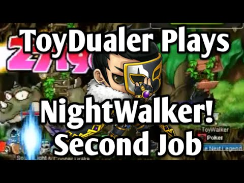 Maplestory: Lets Play NightWalker! - Second Job Training