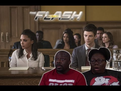The Flash 4x10 REACTION!! {The Trial of the Flash}