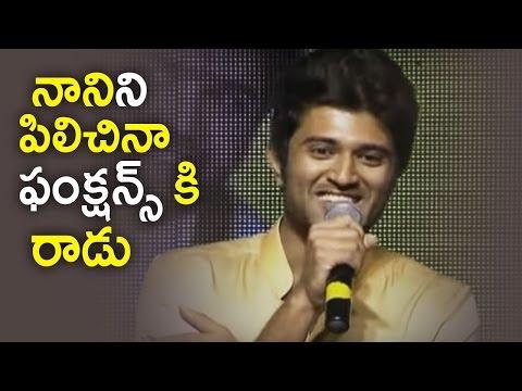 Vijay Devarakonda Funny Speech @ Nanna Nenu Naa Boyfriends Movie Audio Launch | TFPC