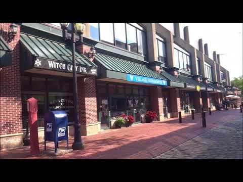 Essex Street Pedestrian Mall - Salem, Massachusetts