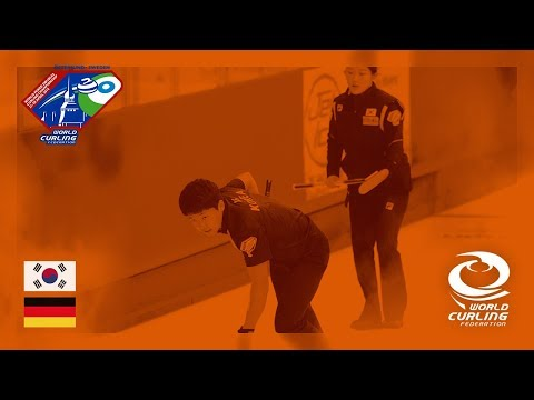 Korea v Germany - Round-robin - World Mixed Doubles Curling Championship 2018