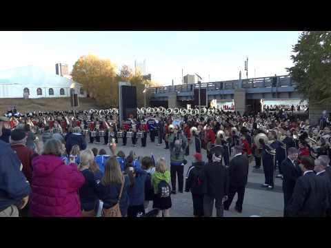 Pitt Band - Victory & Hail to Pitt 4 - 11/5/2011
