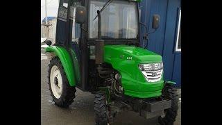 Мини-трактор Xingtai-244 (Синтай-244) с кабиной трёхцилиндровый minitrak.com.ua(, 2016-01-28T11:55:17.000Z)