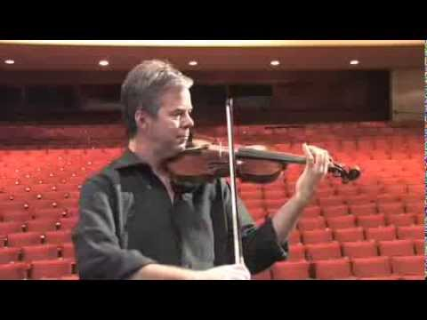 Frank Almond plays the Lipinski Stradivarius
