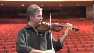 Frank Almond plays the Lipinski Stradivarius
