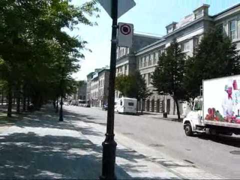 Montreal Travel: Rue de la Commune & Notre-Dame-de-Bon-Secours Chapel