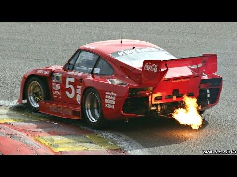 Porsche 935 Turbo Kremer K3 HUGE Flames & Sound @ Track!!