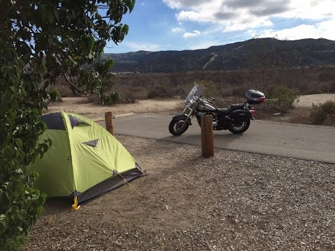 Motocamping: Solo Overnight Motorcycle Camping Trip