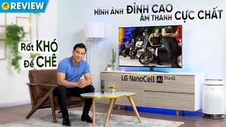 Smart Tivi LG 4K Nano86: màn hình NanoCell cao cấp, điều khiển bằng giọng nói • Điện máy XANH