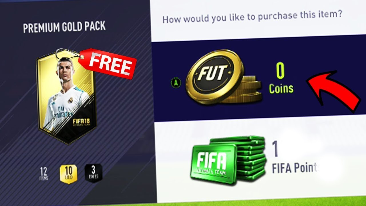 Fifa 18 pack glitch fifa 09 official updates