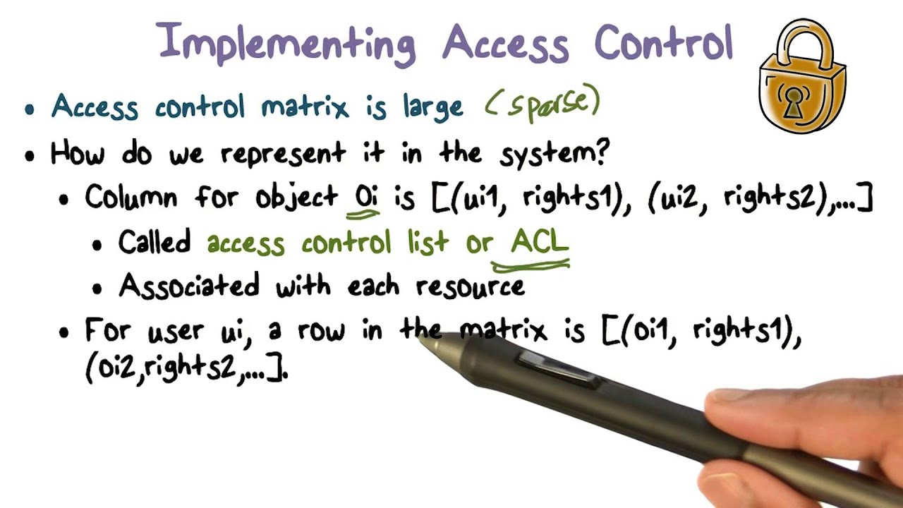 Implementing Access Control
