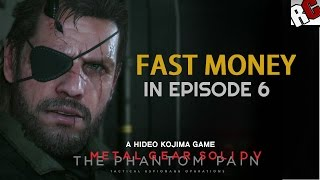 Metal Gear Solid 5: The Phantom Pain - Fast Money during Mission 6 - Collect 6 Large Diamonds