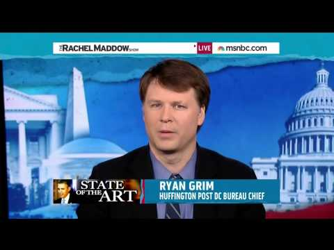 HuffPost's Ryan Grim on MSNBC - YouTube
