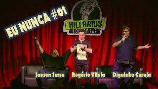 Baixar EU NUNCA #01 - Com Jansen Serra, Diguinho Coruja e Rogério Vilela