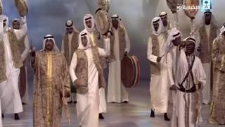 العرضة - من حفل وزارة الإعلام الكويتية بحضور خادم الحرمين وأمير الكويت