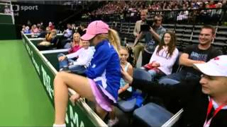 Maria Sharapova vs Lucie Safarova 2012 Prague Exhibition