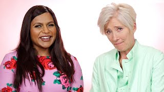 Mindy Kaling And Emma Thompson Give Advice To Women