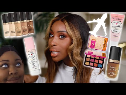 15 Minute Airplane Beat! Makeup For The Plane Tutorial | Jackie Aina thumbnail