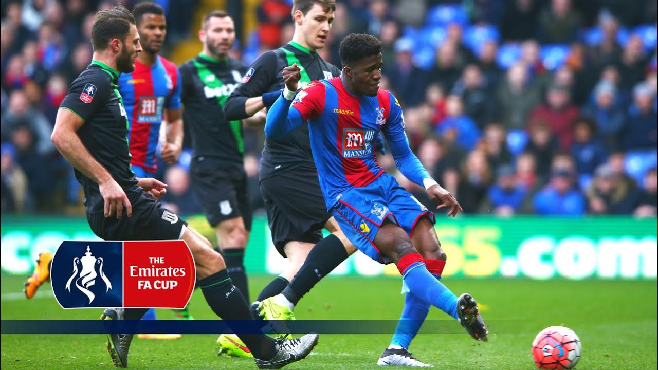 Crystal Palace 1-0 Stoke - Emirates FA Cup 2015/16 (R4) | Goals & Highlights