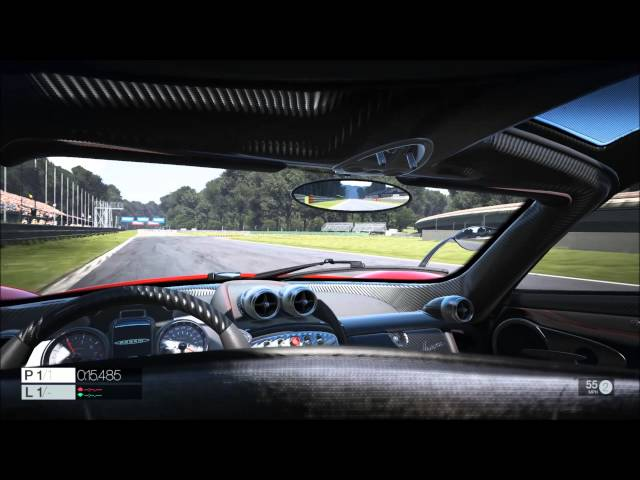 Project CARS b685 - Oculus Rift 1st Headtracking Test