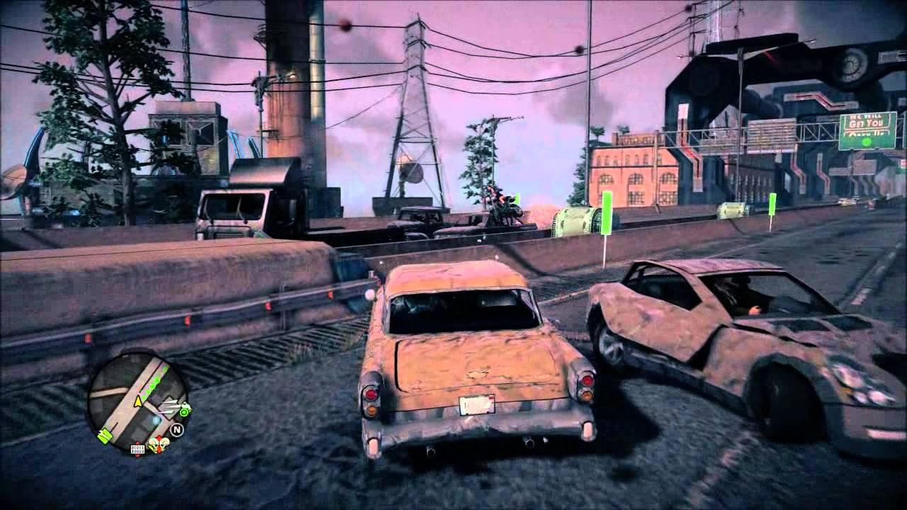Evil Cars Saints Row