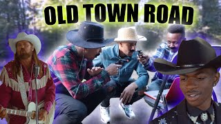 Lil Nas X - Old Town Road (Official Movie)  ft Billy Ray Cyrus| REACTION  (Black Cowboys React)