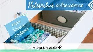 Schals und Halstücher aufbewahren | einfach & organisiert thumbnail