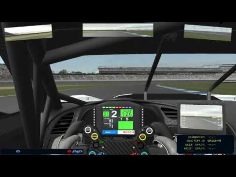 rFactor2 - Test race Indianapolis - Virtual Endurance Championship (VEC)