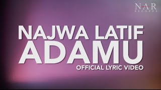 Video Najwa Latif - AdaMU (Official Lyric Video) download MP3, 3GP, MP4, WEBM, AVI, FLV Juli 2018