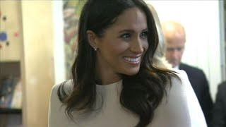 Meghan Markle Seemingly Debuts British Accent -- Watch!
