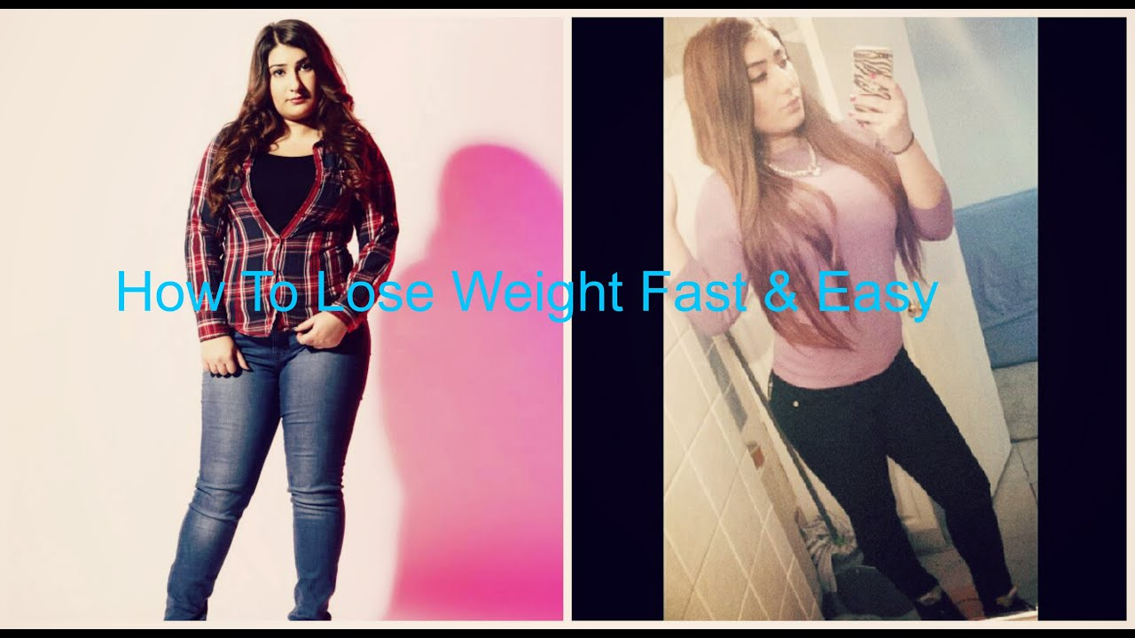 How To Lose Weight Fast And Easy  My Weight Loss Story (4 Dress Sizes In 4  Months) + Bloopers
