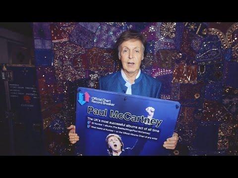 Paul McCartney named UK