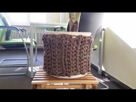 Blumentopf Umhäkeln Youtube
