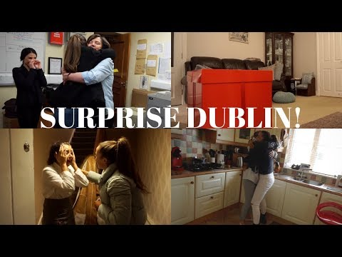 DUBLIN VLOG PART 1 | THE BIG SURPRISE