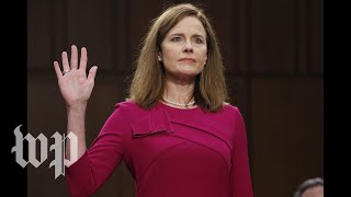 WATCH: Amy Coney Barrett sworn in as Supreme Court justice