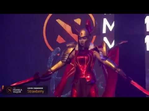 Manila Major: конкурс лучших косплеев