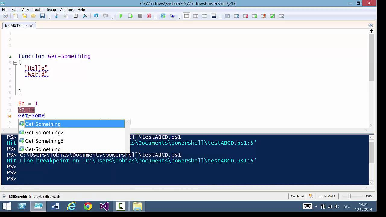 Improving the PowerShell ISE Experience with ISESteroids 2