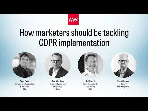 GDPR: How marketers should tackle the EU General Data Protection Regulation