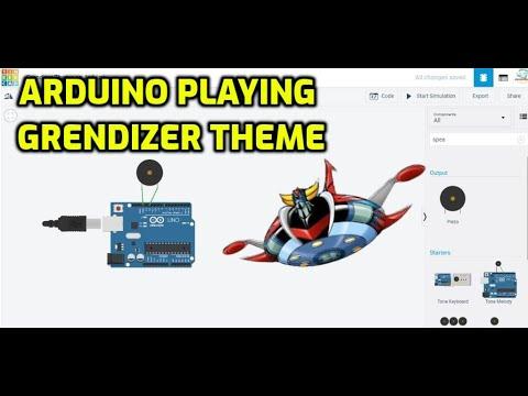 Arduino Playing Grendizer theme