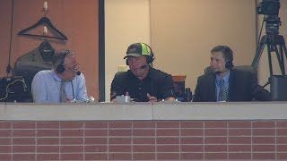 BOS@HOU: Clemens joins Red Sox TV, talks HOF chances