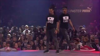 Juste Debout bashment 2016 Dancehall Battle 2vs2 Finals